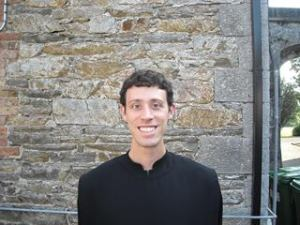 Br. Alex Carroll, new postulant with the Monastery of Our Lady of the Cenacle, Ireland